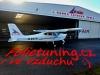 F AIR letecká škola polep letadla