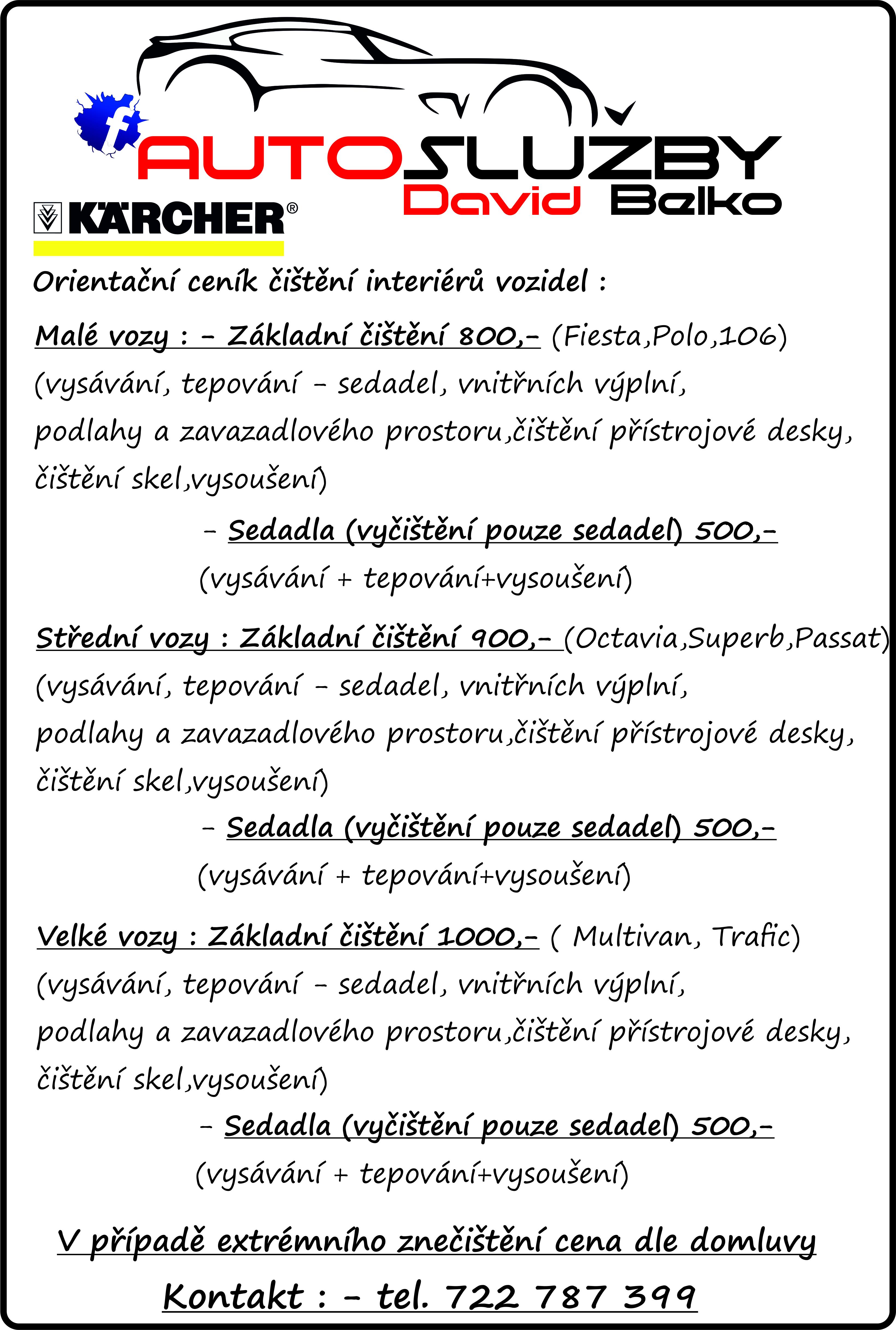 Ceník_Čištění vozidel