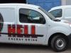 Renault Kangoo - Hell reklamní polep